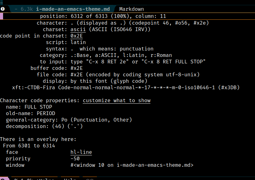 I Wrote an Emacs Color Theme